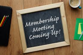 Monthly Membership Meeting