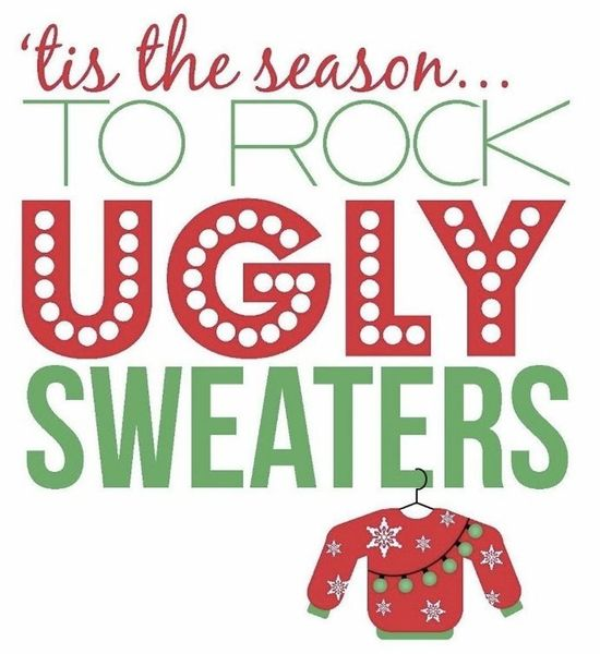 Ugly Sweater Contest & Caroling in the Pub