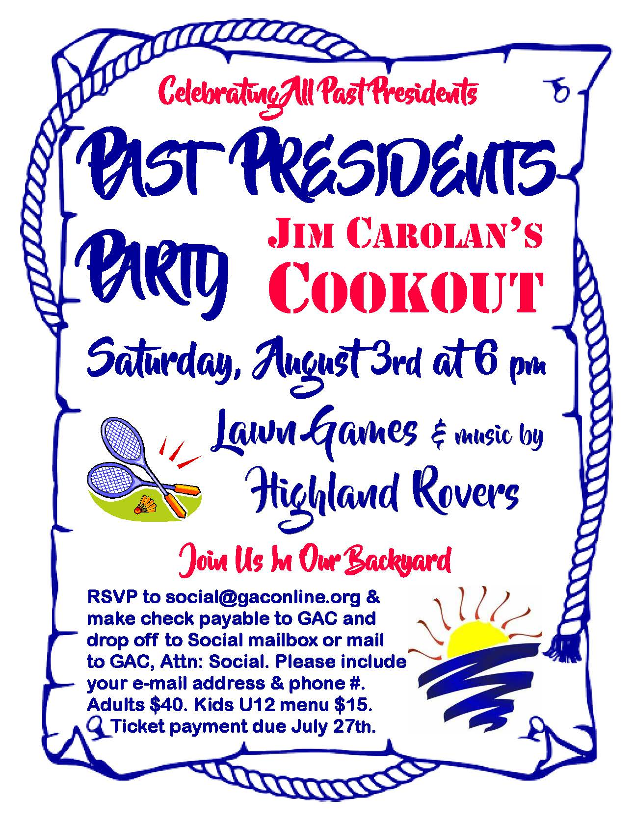Past President's Party