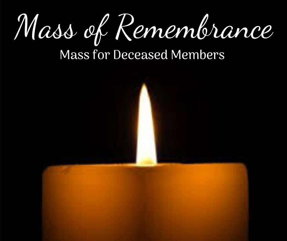 Deceased Members Mass