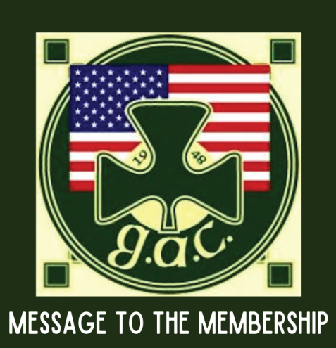 Message to The GAC Membership