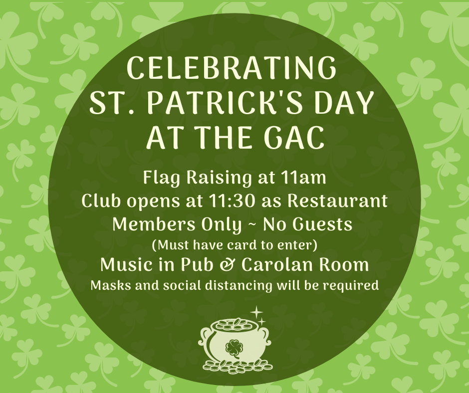 St Patrick's Day Details